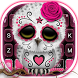 Sugar Skull Owl Keyboard Theme by Fashion theme for Android-2018 keyboard