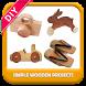 Simple Wooden Project DIY by Elfatimaa