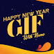 GIF Maker With Name - Happy New Year 2018 by Creta Mobile Apps