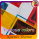 Various colors | Xperia™ Theme
