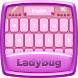 Ladybug Keyboard Theme by Dev Themes
