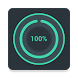 Beautiful Battery Disc Widget by Thalion