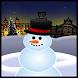 Skiing Snowman Oulu by Lari Manninen