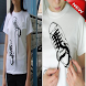 Examples of unique new T-shirt design by ganatta