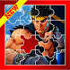Puzzle Street Fighter Slide