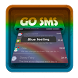 Blue feeling GO SMS by Pixel Themes