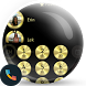 Metal Gold Dialer Theme by Themes Messages Contacts Dialer by Double L