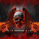 Blood Red Skull Launcher