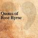 Quotes of Rose Byrne by DeveloperTR