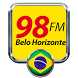 Radio 98 FM Belohorizonte Radio FM Brasil by radiosdobrasilaovivo