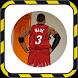 Dwyane Wade Wallpapers HD 4K NBA by RodiReborn