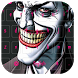 Smile Joker Keyboard theme by cool wallpaper