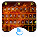 Fire On Rose Keyboard Theme by Beautiful Heart Design