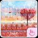 Love Tree Emoji Keyborad Theme
