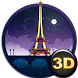 Paris Gold Eiffel Tower Theme by creative 3D Themes