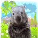 Sneaky Wombat by Ratch Studio