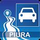 Mapa vial de Piura - Perú by DePeru.com