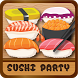 The Sushi Party puzzle game by Apocalypse StarTrek Beyond Dawn Justic Civilwar