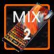 Keyboard for Mi MIX 2 by Keyboard Design Paradise