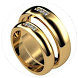 Classy Wedding Ring Design by asolelek