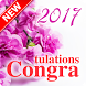Greeting Congratulations eCard by T.R. Inc.