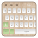 Simple White keyboard by liupeng