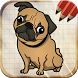 Draw Dogs and Puppies by Art Guides Company