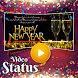 Latest New Year Video Status 2018 - DP Maker by Creta Mobile Apps