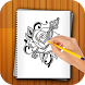Learn to Draw Flower tattoo by Greeting Festival