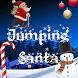Jumping Santa by Akanama
