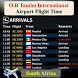 O. R. Tambo Airport Flight Time by AsoftTechnology