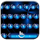 Keyboard Theme Spheres Blue by Luklek