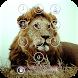Lion Keypad Screen Lock Theme by shree maruti plastic