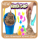 Easy Homemade Kinetic Sand