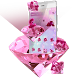 Pink Glitter Theme by Launcher Fantasy