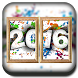 New Year Photo Frame Dual by Abdul Ghafoor