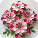 DIY paper flower craft by Suitfanice