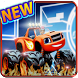blaze race game and the monster truck by aichagame dev