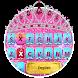 Glitter Tara Theme&Emoji Keyboard by Cool Keyboard Theme Design