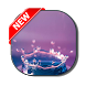 Colored Water Drops Keyboard by live wallpaper collection