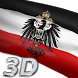 German Imperial Flag 3D by Mummy Apps