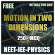 NEET MOTION IN TWO DIMENSION by Learn with Quiz
