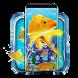 Aquarium Ocean Gold Fish Theme by Ahl ar-ray solutions pvt ltd