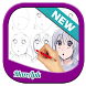 Drawing Anime Step by steps by Manapk