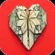 origami heart tutorials by Danikoda