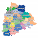 Telangana New Districts Info by SS App Tech