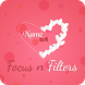 Focus n Filter - Name Art by FormationApps