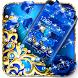 Blue Diamond Bow Theme by Best Cool Theme Dreamer