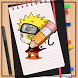 How to Draw Naruto by Learn How to Drawing Cartoon