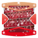 Candy Pink Keyboard Emoji by Gradient Themes